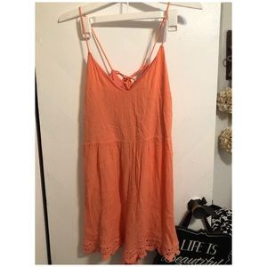 Alter'd State Romper orange